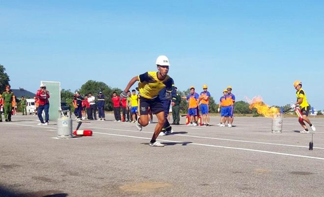 Huyện đảo Phú Quốc tổ chức hội thao kỹ thuật chữa cháy và cứu nạn cứu hộ - Ảnh minh hoạ 5