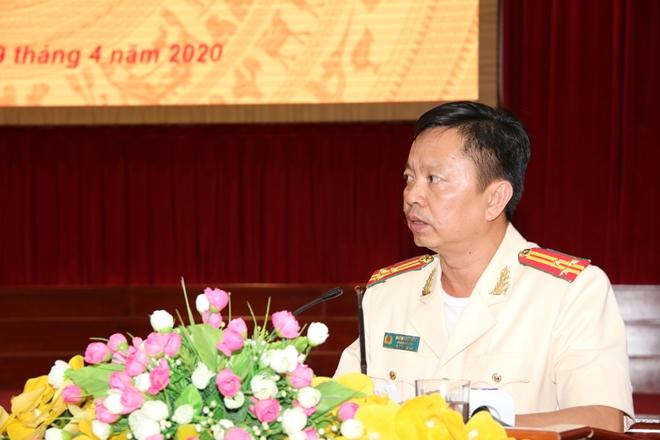 Thượng tá Huỳnh Việt Hòa giữ chức vụ Giám đốc Công an tỉnh Hậu Giang - Ảnh minh hoạ 5