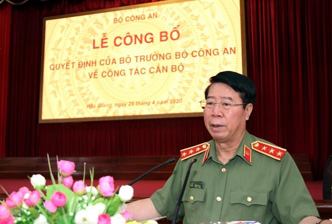 Thượng tá Huỳnh Việt Hòa giữ chức vụ Giám đốc Công an tỉnh Hậu Giang - Ảnh minh hoạ 3