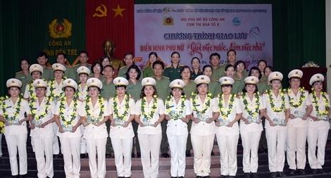 Công an Bến Tre Kỷ niệm 90 năm thành lập Hội Liên hiệp Phụ nữ Việt Nam