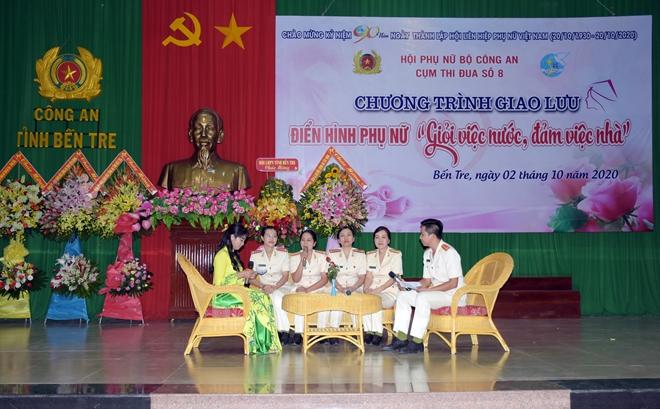 Công an Bến Tre Kỷ niệm 90 năm thành lập Hội Liên hiệp Phụ nữ Việt Nam - Ảnh minh hoạ 3