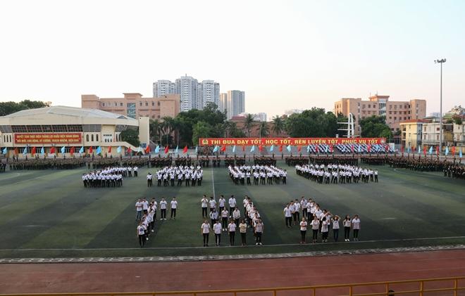 Học viên Học viện ANND luyện tập cho Lễ khai giảng năm học mới - Ảnh minh hoạ 13