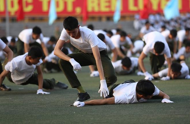 Học viên Học viện ANND luyện tập cho Lễ khai giảng năm học mới - Ảnh minh hoạ 10