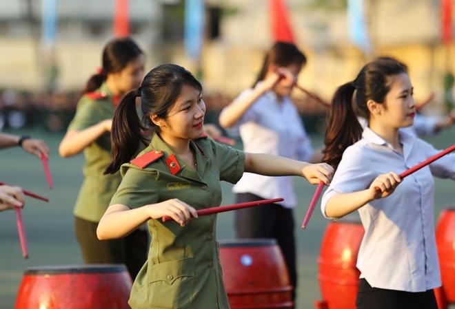Học viên Học viện ANND luyện tập cho Lễ khai giảng năm học mới - Ảnh minh hoạ 12
