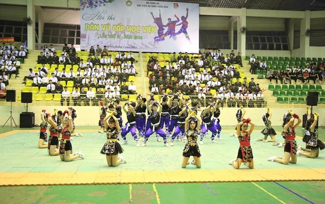 Sinh viên Học viện ANND