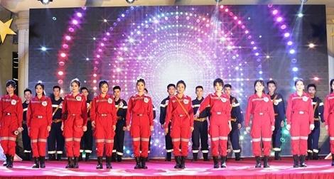 Mãn nhãn đêm chung kết sinh viên thanh lịch, tài năng Đại học PCCC