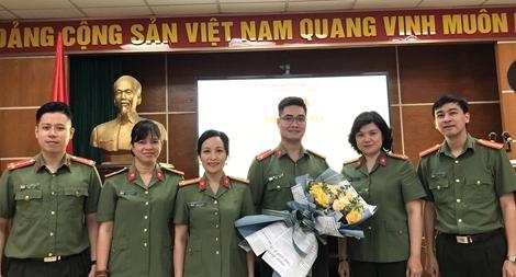 Cụm thi đua số 4 Đoàn Thanh niên Bộ Công an có Cụm trưởng mới