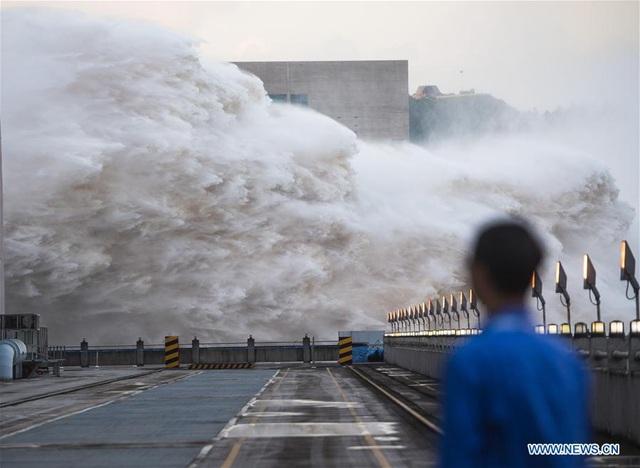 Mực Nước Hồ Chứa đập Tam Hiệp Cao Kỷ Lục Trung Quốc Phải Pha đe Xả Lũ Bao Cong An Nhan Dan điện Tử