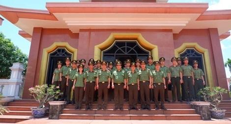 Học viện Chính trị CAND và hành trình về nguồn ý nghĩa tại Quảng Trị