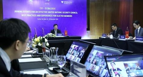 Họp nhóm nước Ủy viên không thường trực HĐBA LHQ