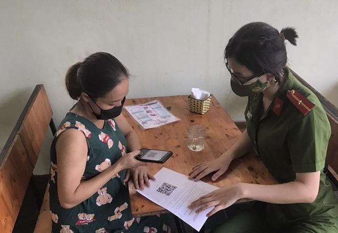 Công an TP Hà Tĩnh lấy ý kiến nhân dân qua mạng internet