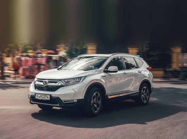 Honda CR-V là mẫu xe đầu tiên bị loại bỏ phiên bản động cơ dầu tại thị trường châu Âu - Ảnh minh hoạ.