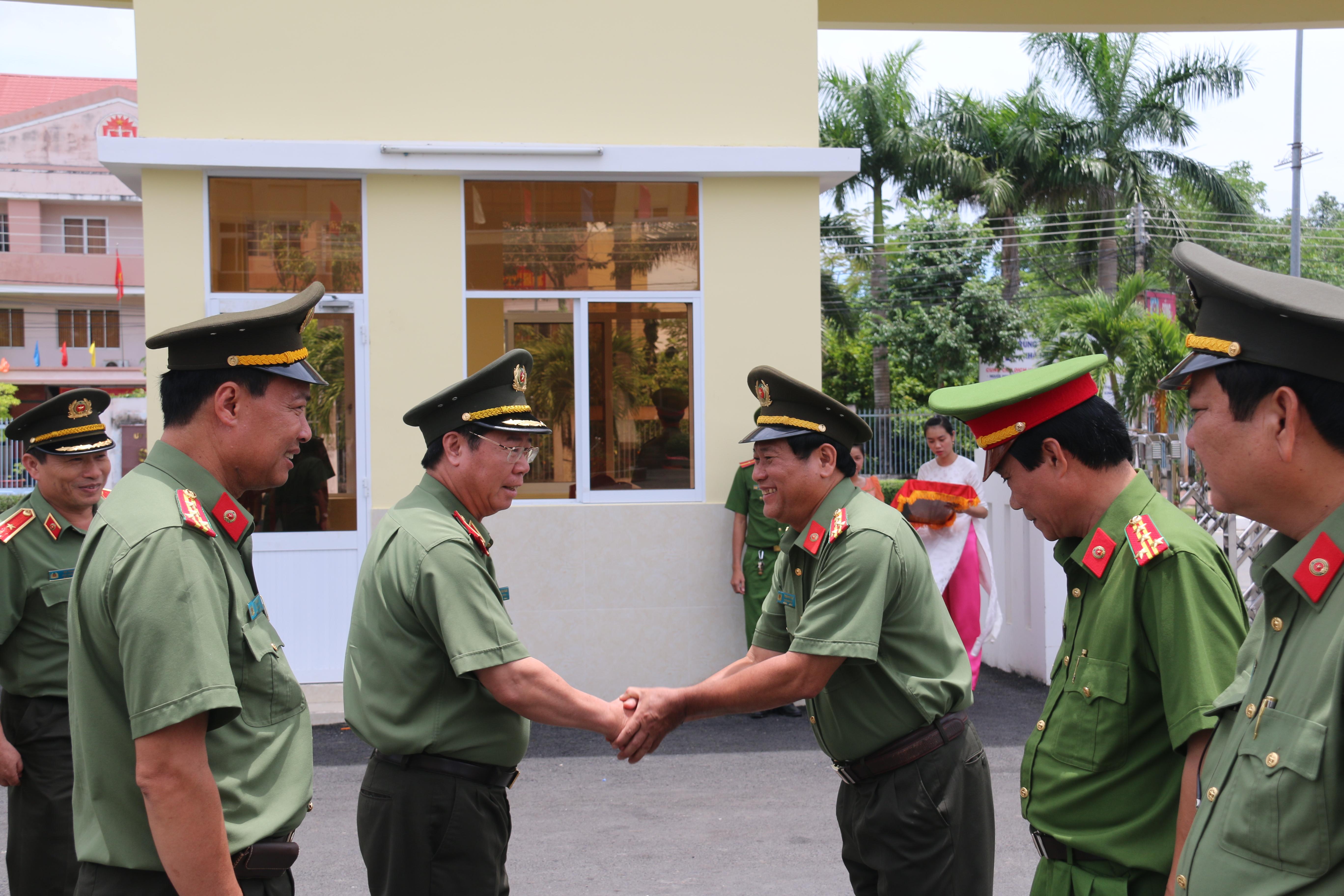 Lãnh đạo Bộ Công an kiểm tra công tác tại Công an Bạc Liêu