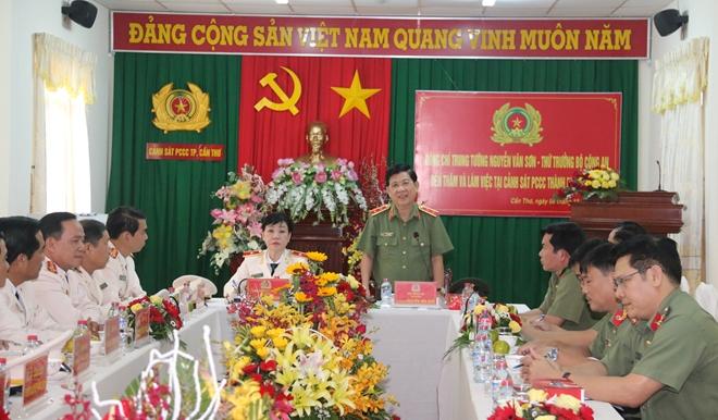 Thứ trưởng Nguyễn Văn Sơn thăm và làm việc tại TP Cần Thơ - Ảnh minh hoạ 4
