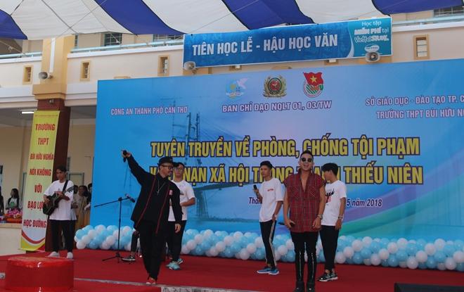 Giao lưu tuyên truyền phòng chống tội phạm và TNXH trong thanh thiếu niên - Ảnh minh hoạ 4