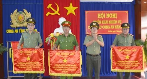 Công an tỉnh Trà Vinh triển khai công tác năm 2019