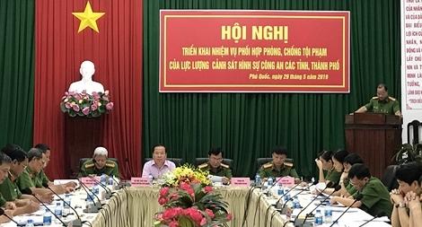 Phối hợp phòng, chống tội phạm trên huyện đảo Phú Quốc