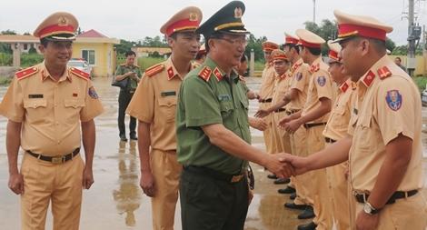 Thứ trưởng Nguyễn Văn Thành làm việc với Thủy đoàn II Cục CSGT