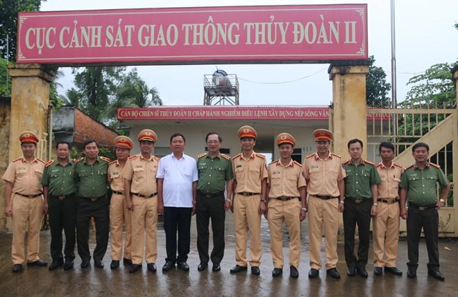 Thứ trưởng Nguyễn Văn Thành làm việc với Thủy đoàn II Cục CSGT - Ảnh minh hoạ 8