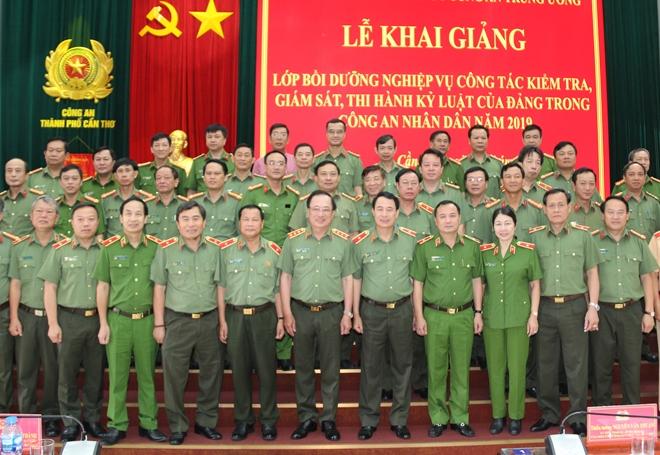 Khai giảng lớp bồi dưỡng nghiệp vụ kiểm tra, giám sát của Đảng trong CAND - Ảnh minh hoạ 2