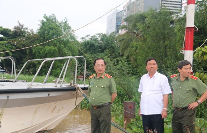 Thứ trưởng Nguyễn Văn Thành làm việc với Thủy đoàn II Cục CSGT - Ảnh minh hoạ 7