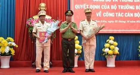Giám đốc Công an tỉnh Bạc Liêu giữ chức vụ Cục trưởng Cục Tổ chức cán bộ