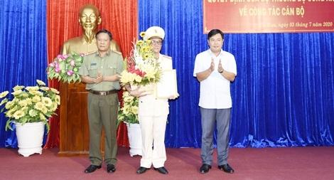 Công an tỉnh Cà Mau có tân Phó Giám đốc