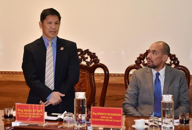 Đoàn công tác Đại sứ quán Hoa Kỳ làm việc với Công an tỉnh Bạc Liêu - Ảnh minh hoạ 3