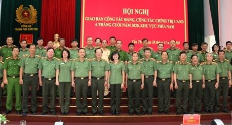 Giao ban công tác Đảng, công tác Chính trị CAND khu vực phía Nam
