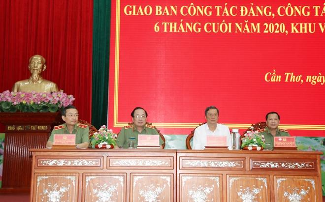 Giao ban công tác Đảng, công tác Chính trị CAND khu vực phía Nam - Ảnh minh hoạ 3
