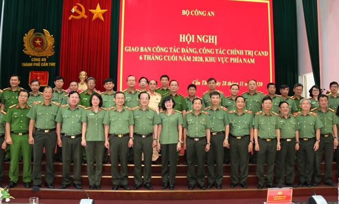 Giao ban công tác Đảng, công tác Chính trị CAND khu vực phía Nam - Ảnh minh hoạ 4