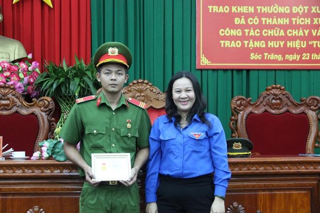 Chiến sỹ Cảnh sát PCCC vinh dự tham dự Đại hội Thi đua yêu nước toàn quốc lần thứ X