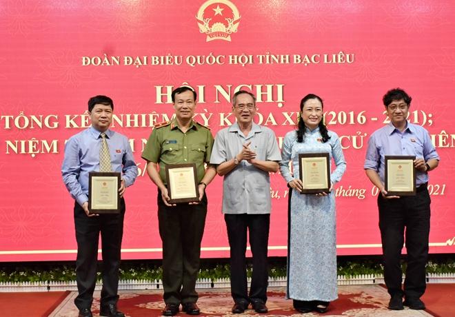 Thứ trưởng Lê Tấn Tới dự tổng kết Đoàn Đại biểu Quốc hội tỉnh Bạc Liêu khóa XIV - Ảnh minh hoạ 4