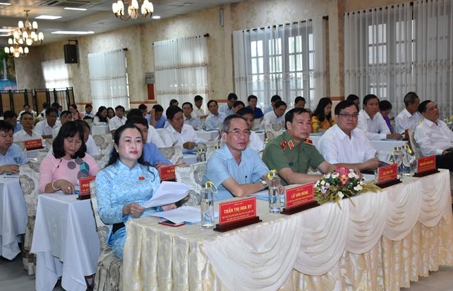 Thứ trưởng Lê Tấn Tới dự tổng kết Đoàn Đại biểu Quốc hội tỉnh Bạc Liêu khóa XIV - Ảnh minh hoạ 7