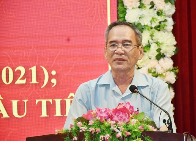Thứ trưởng Lê Tấn Tới dự tổng kết Đoàn Đại biểu Quốc hội tỉnh Bạc Liêu khóa XIV
