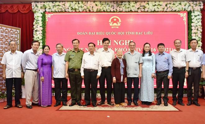 Thứ trưởng Lê Tấn Tới dự tổng kết Đoàn Đại biểu Quốc hội tỉnh Bạc Liêu khóa XIV - Ảnh minh hoạ 6