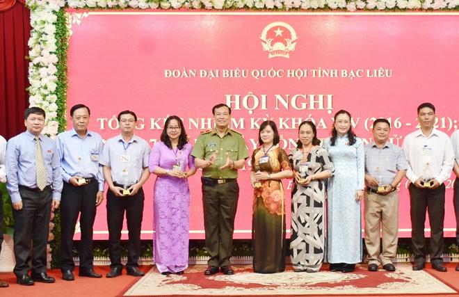 Thứ trưởng Lê Tấn Tới dự tổng kết Đoàn Đại biểu Quốc hội tỉnh Bạc Liêu khóa XIV - Ảnh minh hoạ 5