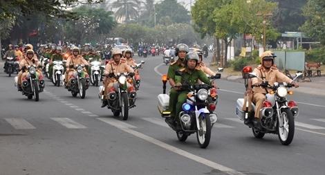 Ra quân bảo vệ Đại hội Đảng toàn quốc lần thứ XIII