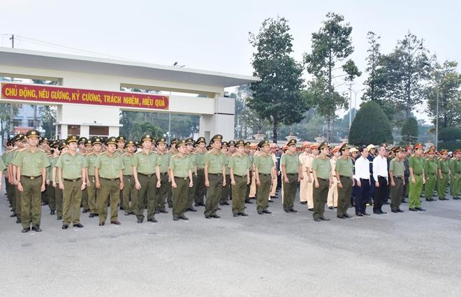 Ra quân bảo vệ Đại hội Đảng toàn quốc lần thứ XIII - Ảnh minh hoạ 3