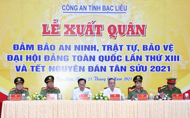 Quyết tâm bảo vệ thành công Đại hội lần thứ XIII của Đảng