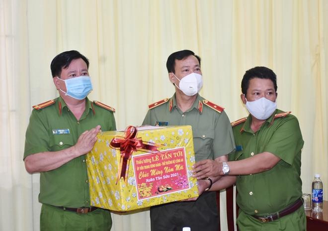 Thứ trưởng Lê Tấn Tới kiểm tra công tác tại Công an tỉnh Bạc Liêu - Ảnh minh hoạ 3