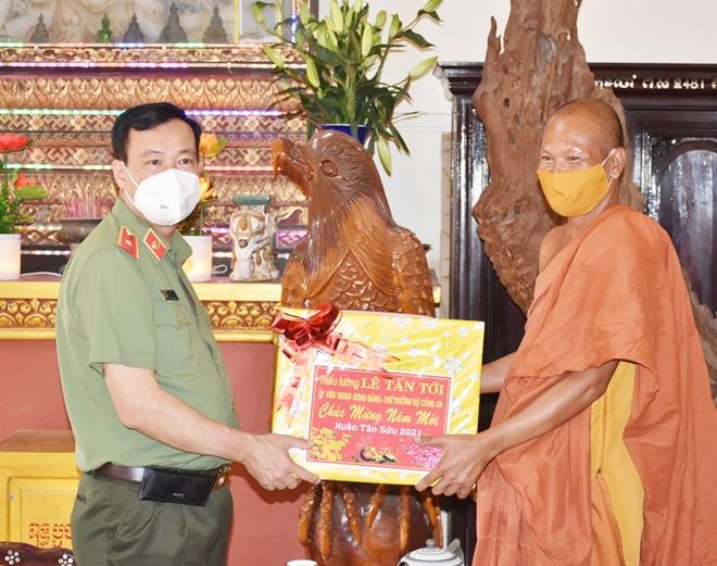 Thứ trưởng Lê Tấn Tới kiểm tra công tác tại Công an tỉnh Bạc Liêu - Ảnh minh hoạ 5