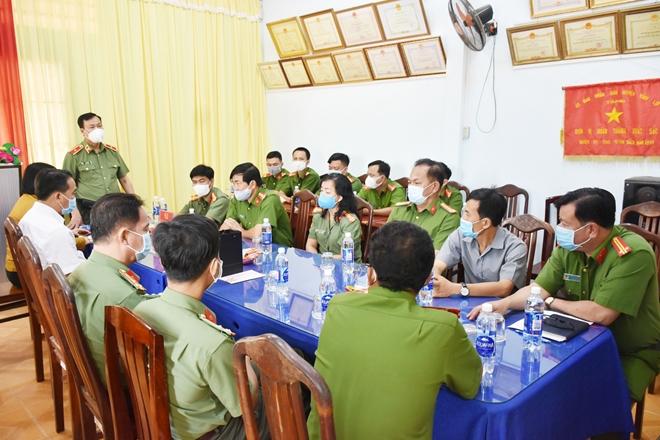 Thứ trưởng Lê Tấn Tới kiểm tra công tác tại Công an tỉnh Bạc Liêu - Ảnh minh hoạ 2