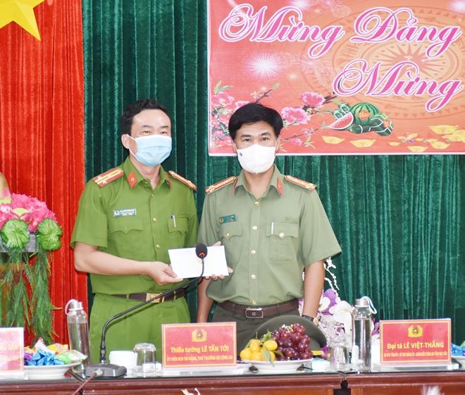 Thứ trưởng Lê Tấn Tới kiểm tra công tác tại Công an tỉnh Bạc Liêu - Ảnh minh hoạ 7