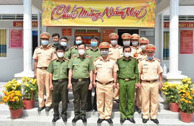 Thứ trưởng Lê Tấn Tới kiểm tra công tác một số đơn vị thuộc Công an tỉnh Bạc Liêu - Ảnh minh hoạ 6