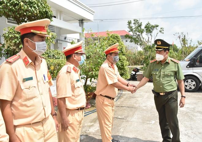 Thứ trưởng Lê Tấn Tới kiểm tra công tác một số đơn vị thuộc Công an tỉnh Bạc Liêu - Ảnh minh hoạ 4