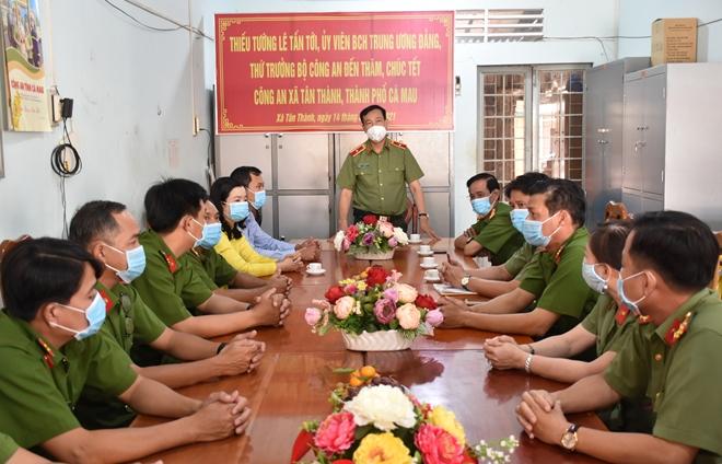 Thứ trưởng Lê Tấn Tới tiếp tục kiểm tra công tác tại Bạc Liêu và Cà Mau - Ảnh minh hoạ 5