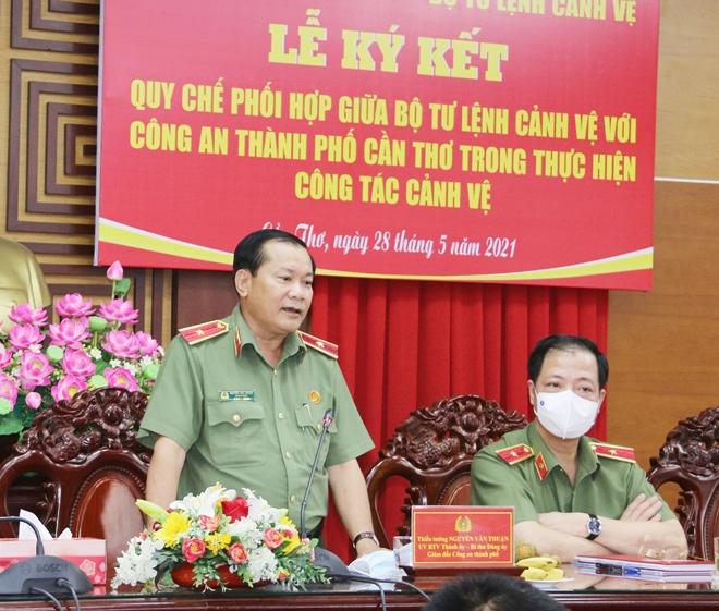 Ký kết Qui chế phối hợp giữa Công an TP Cần Thơ và Bộ Tư lệnh Cảnh vệ - Ảnh minh hoạ 7