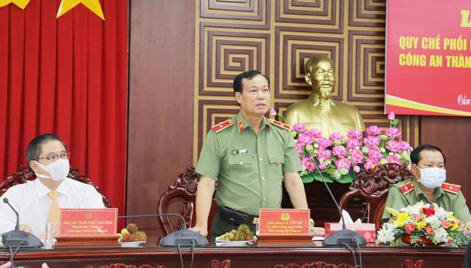 Ký kết Qui chế phối hợp giữa Công an TP Cần Thơ và Bộ Tư lệnh Cảnh vệ