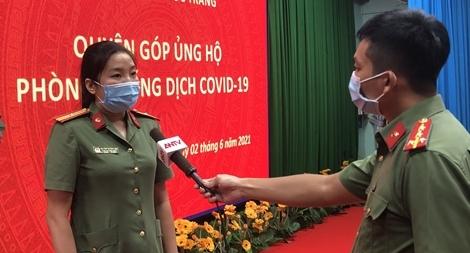 Những chiến sỹ Công an làm báo ở Sóc Trăng